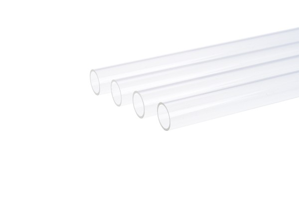 Alphacool HardTube 12/10mm plexi clear 60cm - 4pcs