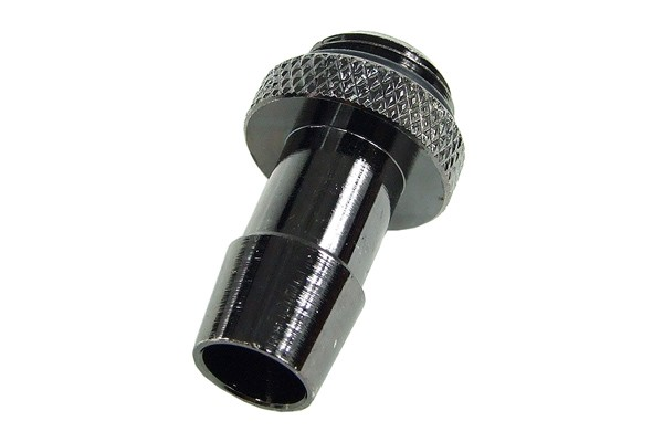 """10mm (3/8"""") fitting G1/4 with O-Ring (High-Flow) - Short - black nickel"""