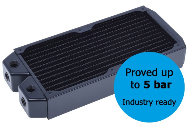 Alphacool NexXxos XT45 Industry HPC Series 240mm radiator