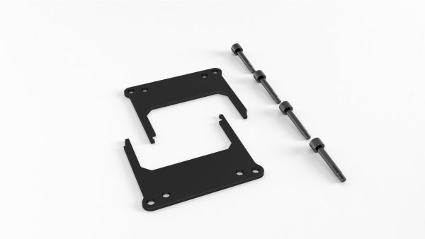 Alphacool AMD Threadripper/Epyc TR4/SP3 mounting bracket for Eisbaer/Eisblock/Silent Loop incl. screws