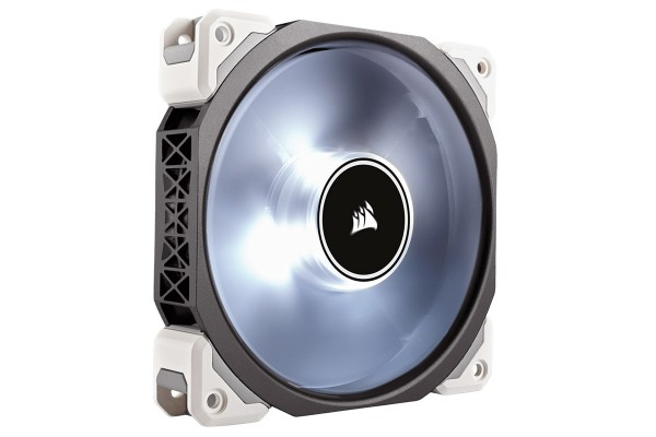 Corsair ML Series ML120 Pro LED white Premium Magnetic Levitation Fan (120x120x25)