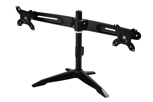 Silverstone ARM23BS double monitor mount - black