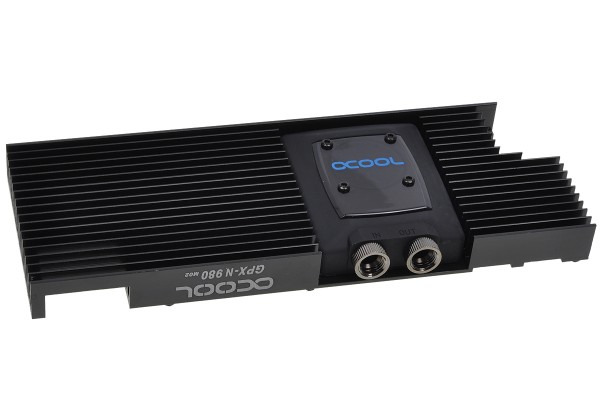 Alphacool NexXxoS GPX - Nvidia Geforce GTX 980 M02 - incl. backplate - black