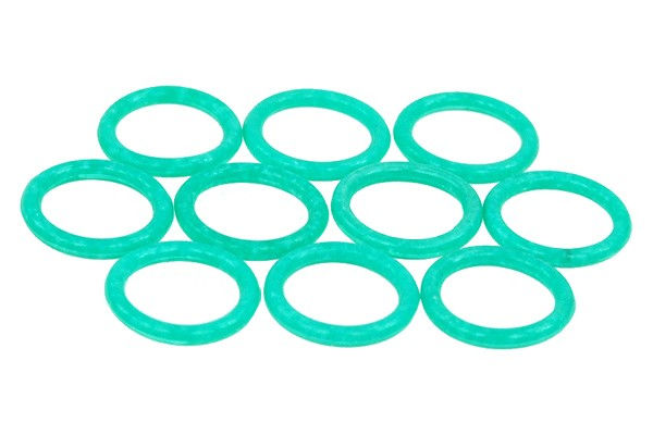 Phobya O-ring 11,1 x 2mm (G1/4 Inch) – UV-reactive green 10pcs.
