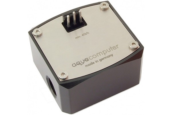 Aquacomputer Flow sensor 'high flow' G1/4 for aquaero, aquastream XT ultra and poweradjust