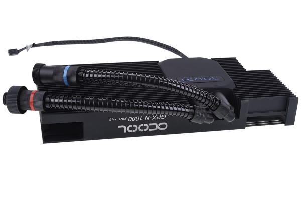 Alphacool Eiswolf GPX Pro - Nvidia Geforce GTX 1080 M15 - incl. backplate