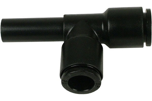 Plugin L-plug fitting 8mm black
