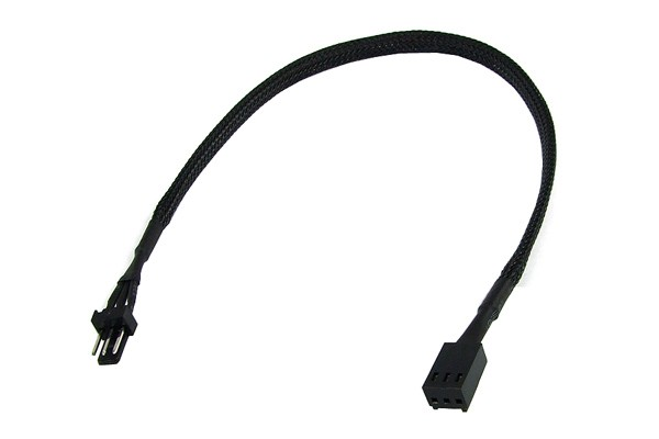 extension 3Pin Molex 30cm - black