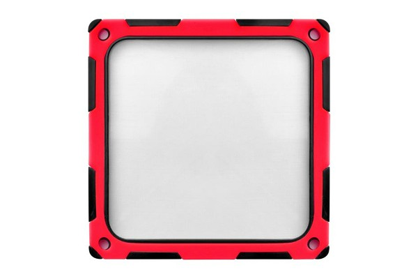 Silverstone fan filter magnetic SST-FF124BR-E - black/red