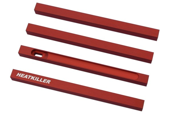 Watercool HEATKILLER® Tube - stuts 150mm - red
