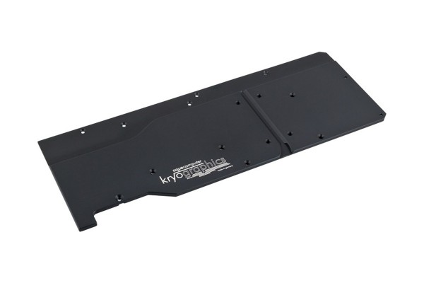 Aquacomputer backplate for kryographics Pascal TITAN X and GTX 1080 Ti, passive