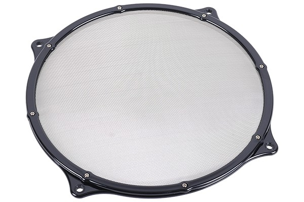 fan filter Mesh 200mm frame black