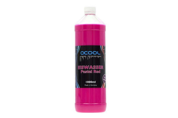 Alphacool Eiswasser Pastel Purple/Red UV-active premixed coolant 1000ml