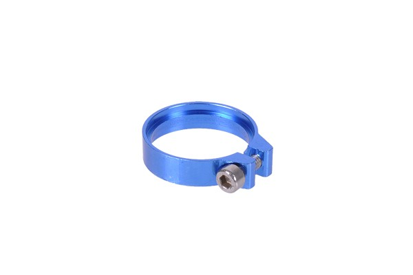 Phobya hose clamp hexagonal 17.8 - 19mm blue