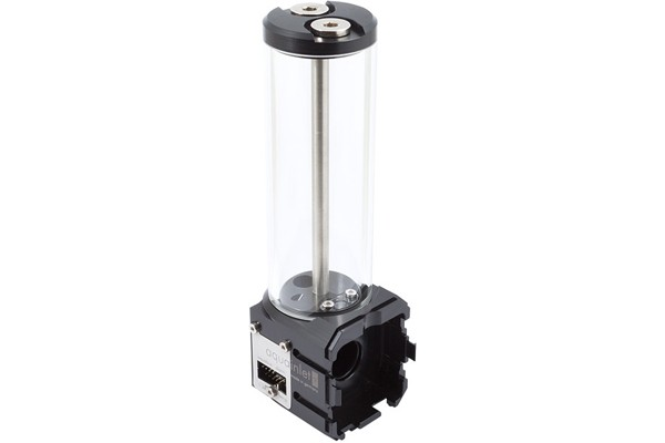 Aquacomputer aquainlet XT 150 ml with nano coating, fill level measurement and lighting option, G1/4