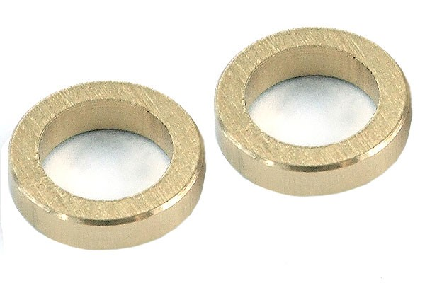 spacer sleeves brass (2 pieces)