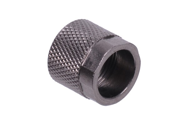 union nut 13mm type 2 - black nickel