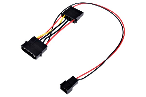 adapter 4Pin (12V) to 3Pin (7V)