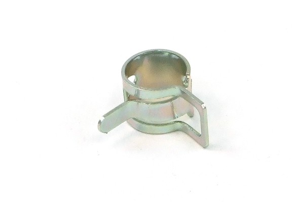 hose clamp steel band 10 - 12mm silver