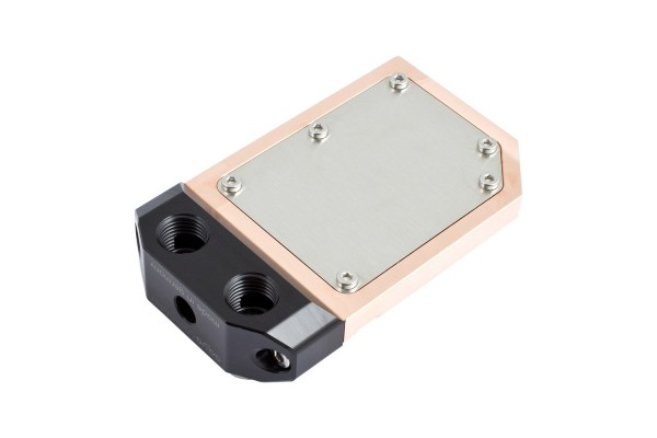 Aquacomputer water block for kryoM.2
