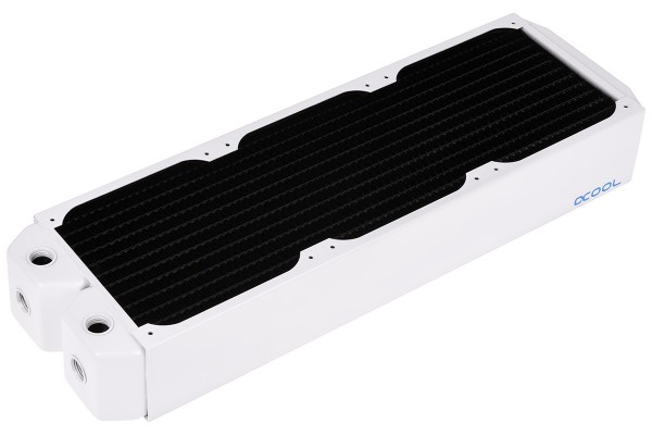Alphacool NexXxoS UT60 Full Copper 360mm radiator - White Special Edition
