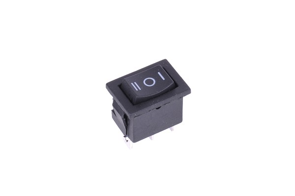 Phobya Phobya toggle switch unipolar ON/OFF/ON black (3pin)