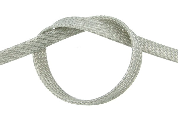 "Phobya Flex Sleeve 13mm (1/2"") silver 1m"