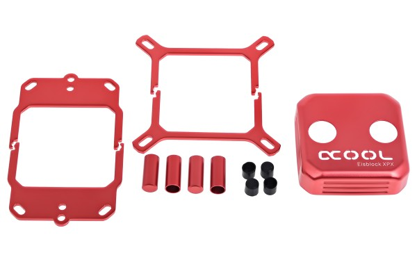 Alphacool Eisblock XPX CPU replacement cover - red