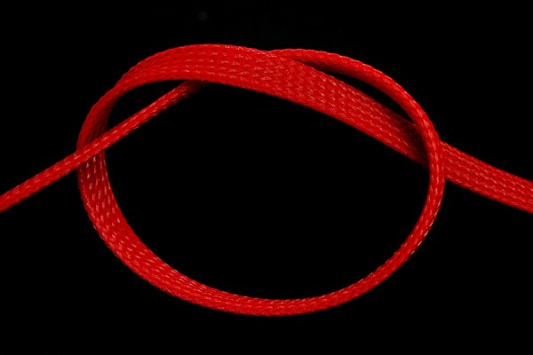 "Phobya Flex Sleeve 10mm (3/8"") UV red 1m"