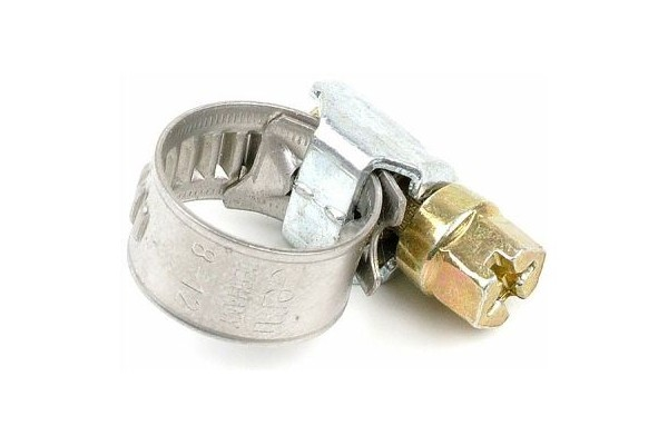 hose clamp 8 - 12mm steel zinc-coated