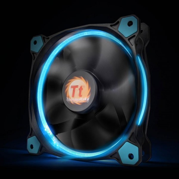 Thermaltake Riing 14 LED blue, casefan - (120x120x25mm)