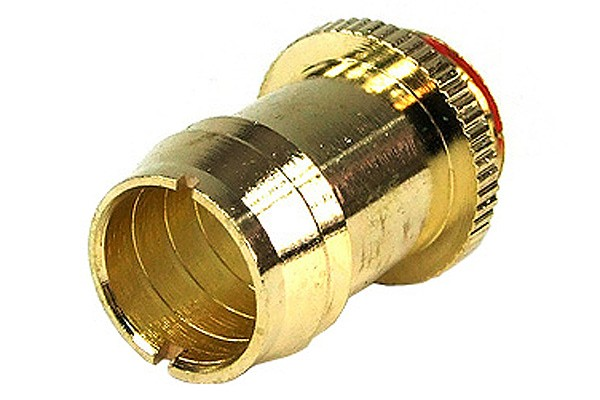 """13mm (1/2"""") fitting G1/4 with O-Ring - gold plated"""
