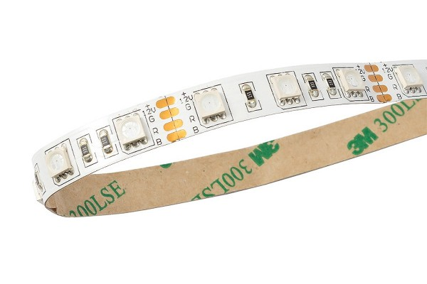 Aquacomputer RGB LED strip, white, length 500cm