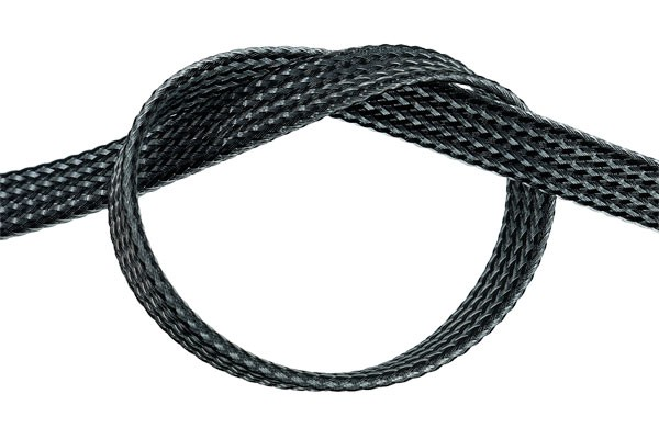"Phobya Flex Sleeve 10mm (3/8"") Carbon Fiber 1m"
