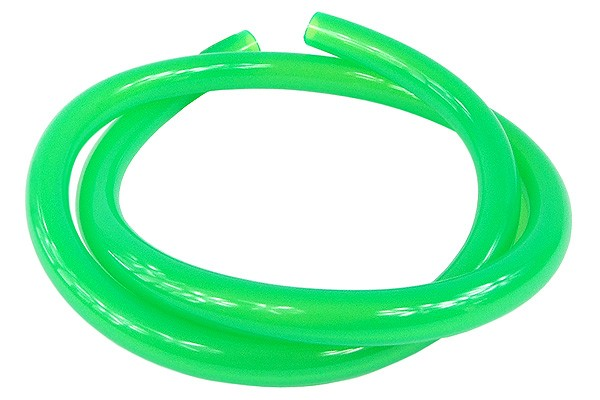 "Masterkleer tubing PVC 16/10mm (3/8""ID) UV-active green"