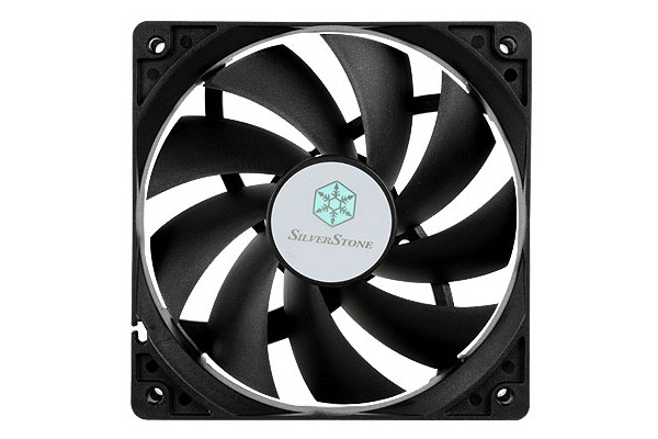 Silverstone 120mm fan SST-FN121-P - Black (120x120x25mm)