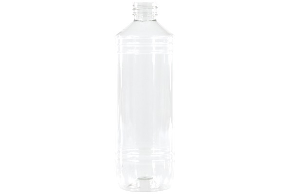 Bottle 500ml PET clear round