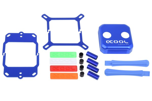 Alphacool Eisblock XPX CPU modding kit - blue