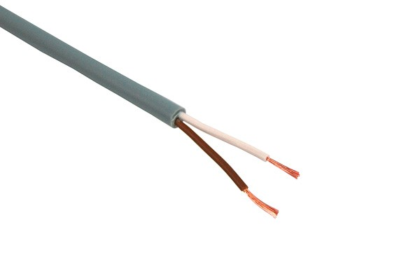 Control cable 2x0,14mm² unshielded 2-lead 5m