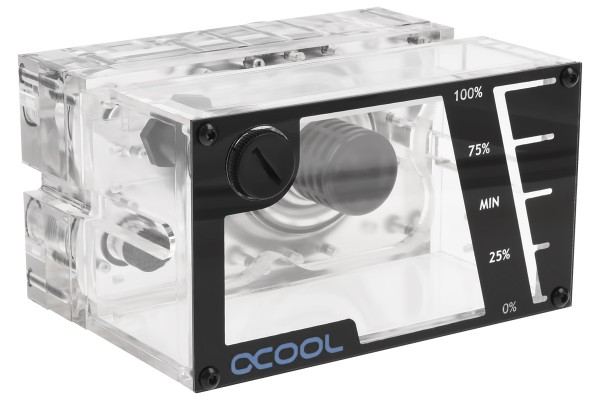 Alphacool Repack - Single Laing D5 - Dual 5,25 Bay Station incl. 1x Alphacool VPP655