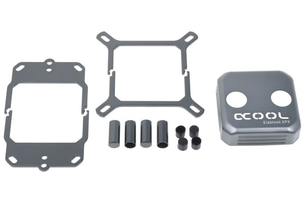 Alphacool Eisblock XPX CPU replacement cover - titan grey