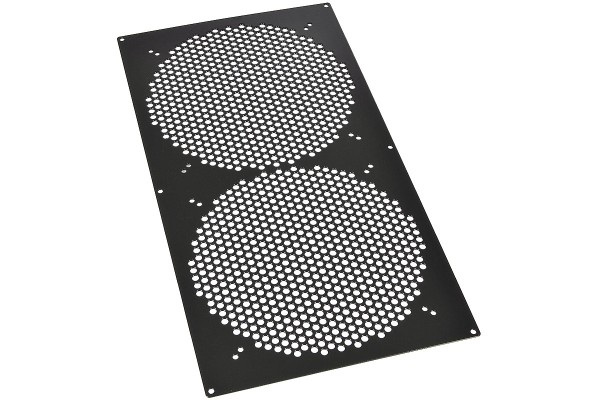 Phobya radiator grill Xtreme (400) - Hole Series - black