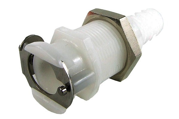 Quick release coupling CPC 7,9mm coupling with bulkhead thread