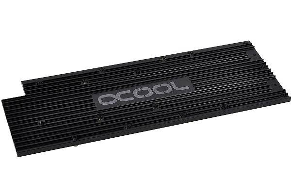 Alphacool Backplate for GPX - AMD R9 290X und 290 M01 Non Reference - black