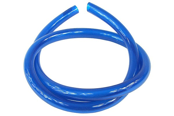 "Masterkleer tubing PVC 16/10mm (3/8""ID) UV-active blue"