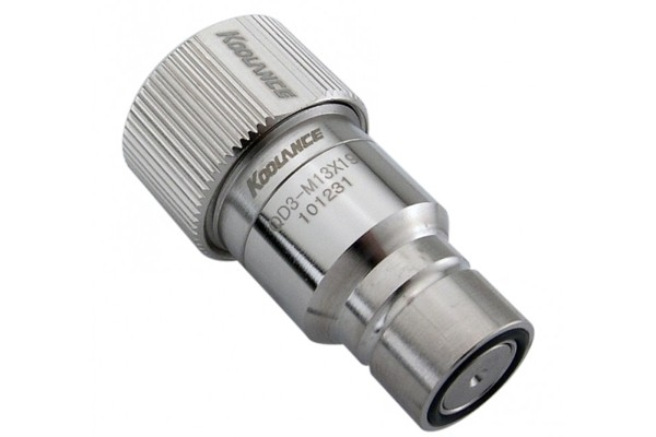 "Koolance quick release connector 19/13mm (ID 1/2"" OD 3/4"") male (High Flow) - QD3"