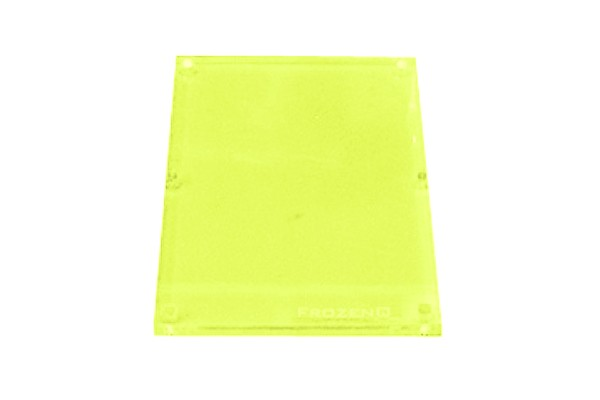 FrozenQ Replacement Flex Tank plates - Fluorescent Green