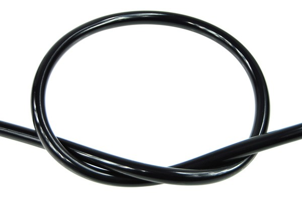 "Masterkleer tubing PVC 19/13mm (1/2""ID) UV-active black"