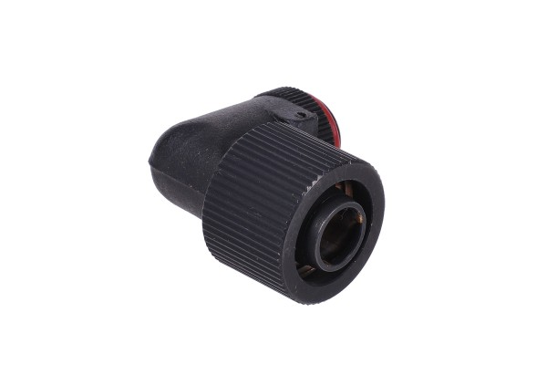 16/11mm compression fitting 90° revolvable G1/4 - compact - matte black