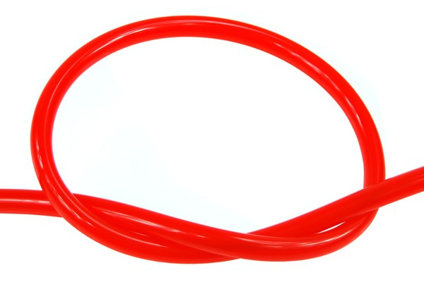 "Masterkleer tubing PVC 13/10mm (3/8""ID) UV-reactive dark red"